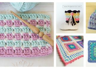Beautiful Block Stitch Free Crochet Patterns and Projects
