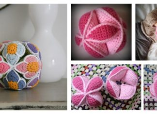 Puzzle Ball Free Crochet Pattern