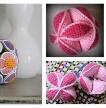 Puzzle Ball Free Crochet Pattern