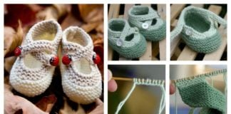 Cute Saartje's Booties Free Knitting Pattern