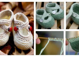 Cute Saartje's Booties Free Knitting Pattern