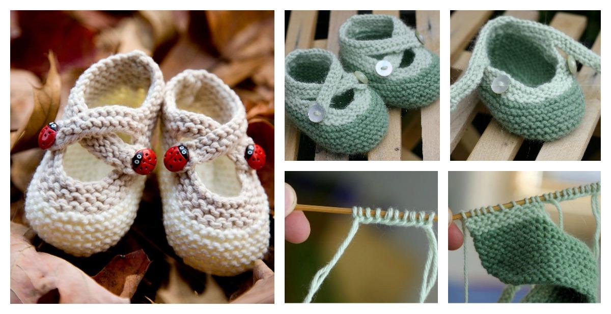 Cute Saartjes Booties Free Knitting Pattern
