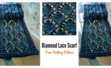 Diamond Lace Knitting Pattern : Knit Archives - Page 2 of 6 - Cool Creativities