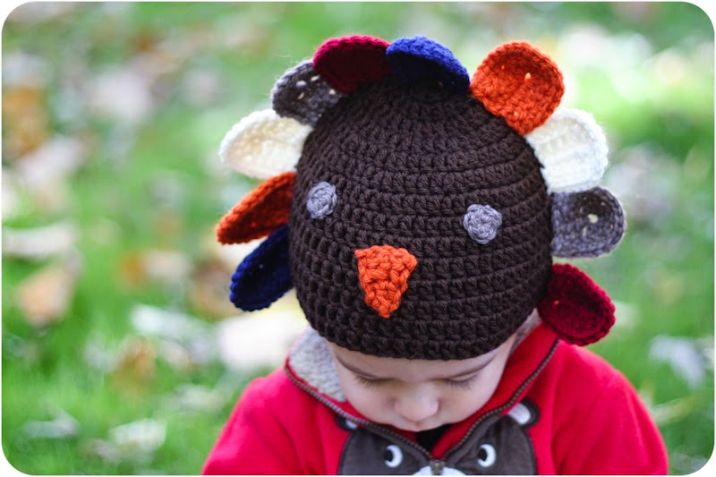 Little Turkey Hat Free Crochet Pattern