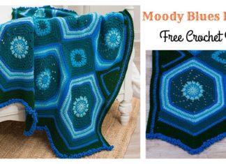 Moody Blues Blanket Free Crochet Pattern