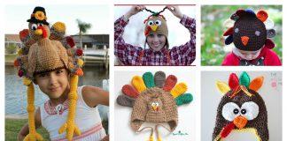 Turkey Hat Free Crochet Patterns