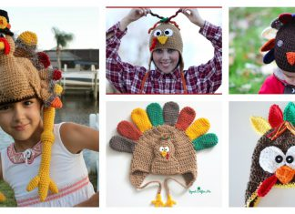 Turkey Hat Free Crochet Patterns