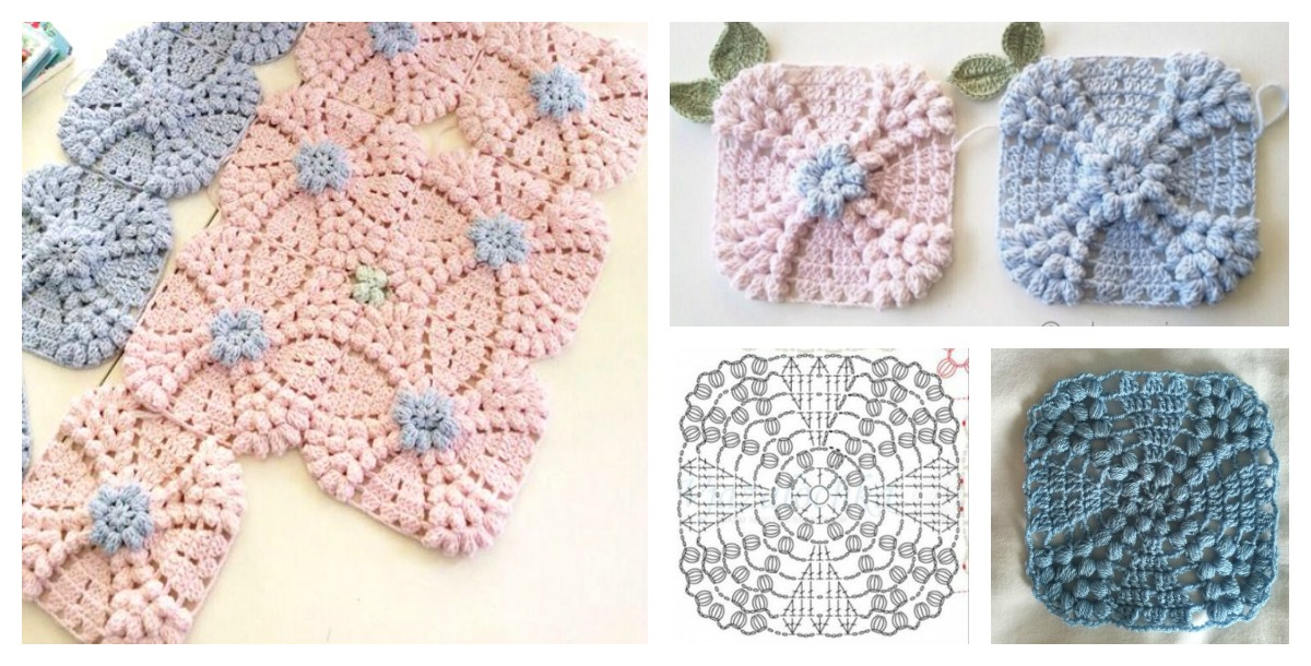 Vintage Wedding Ring Motif Free Crochet Pattern