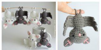 Adorable Amigurumi Bat Free Crochet Pattern