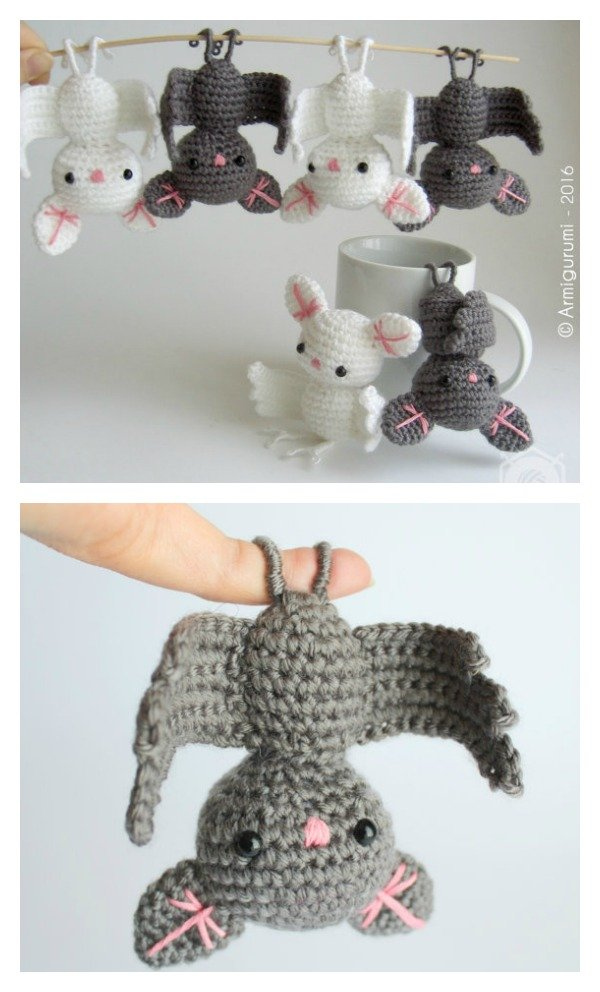 Adorable Amigurumi Crochet Bat
