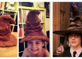 Adorable Harry Potter Sorting Hat Free Crochet Pattern