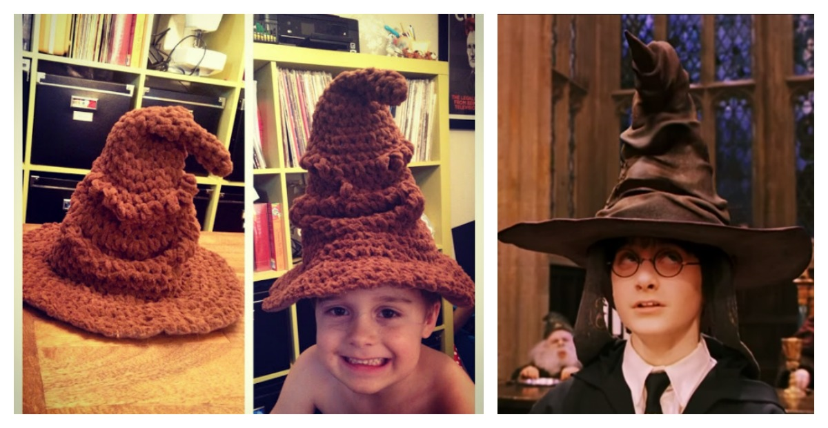 Adorable Harry Potter Sorting Hat Free Crochet Pattern fbbbe8c775c