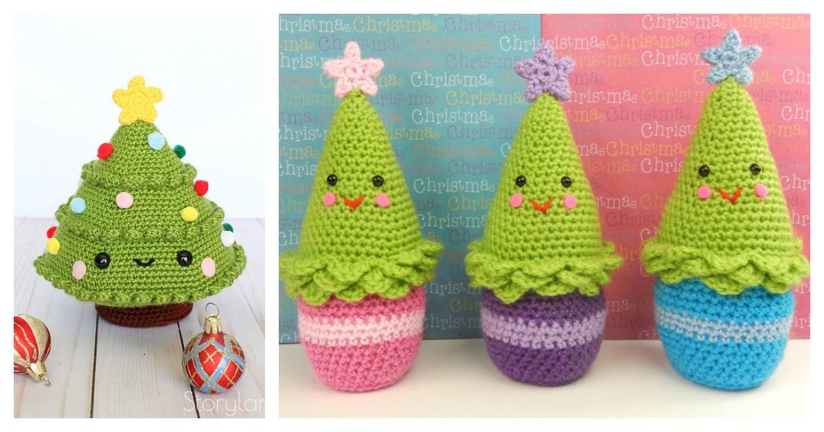 Christmas Tree Amigurumi Free Crochet Pattern - Cool Creativities | 630x1200