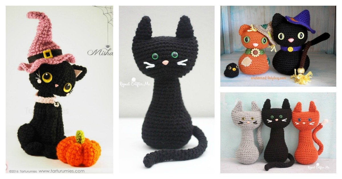 Top 10 Free Halloween Amigurumi Pattern Links | Halloween crochet ... | 630x1200
