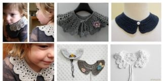 Beautiful Crocheted Collar Free Patterns
