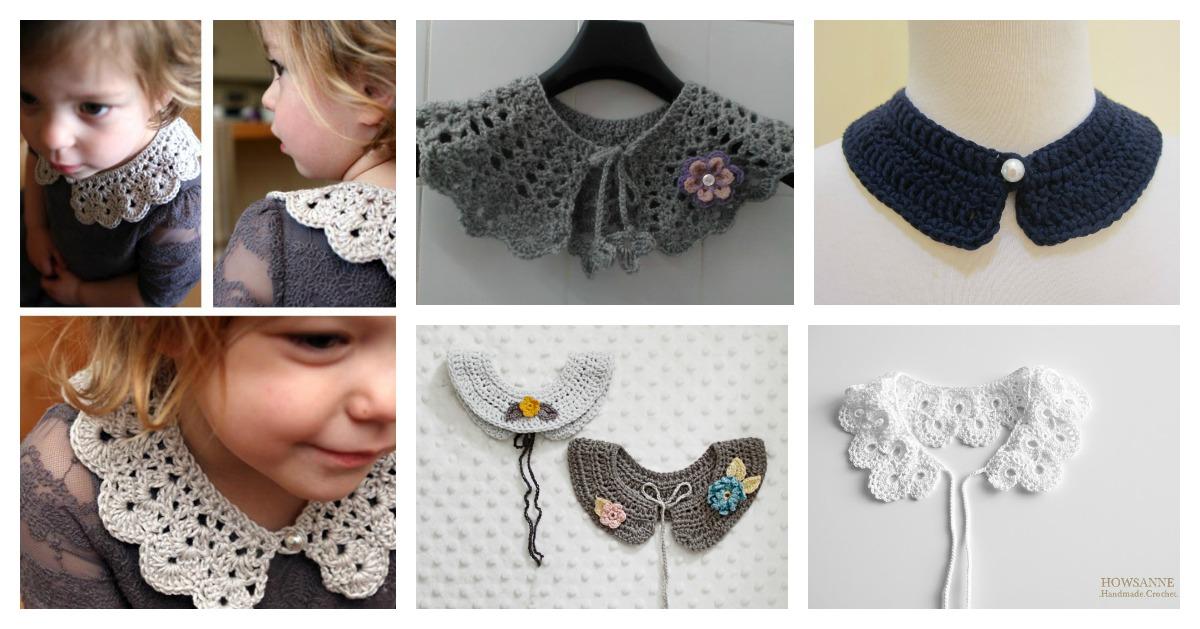 Beautiful Crocheted Collar Free Patterns