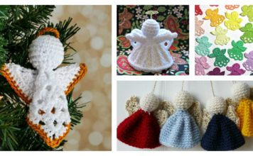 Christmas Angel Ornament Free Crochet Patterns