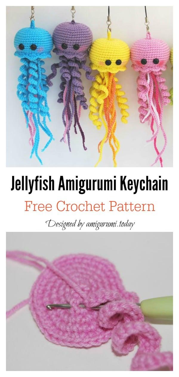 Bear amigurumi keychain, Ice cream Amigurumi keyring , crochet ... | 1260x600