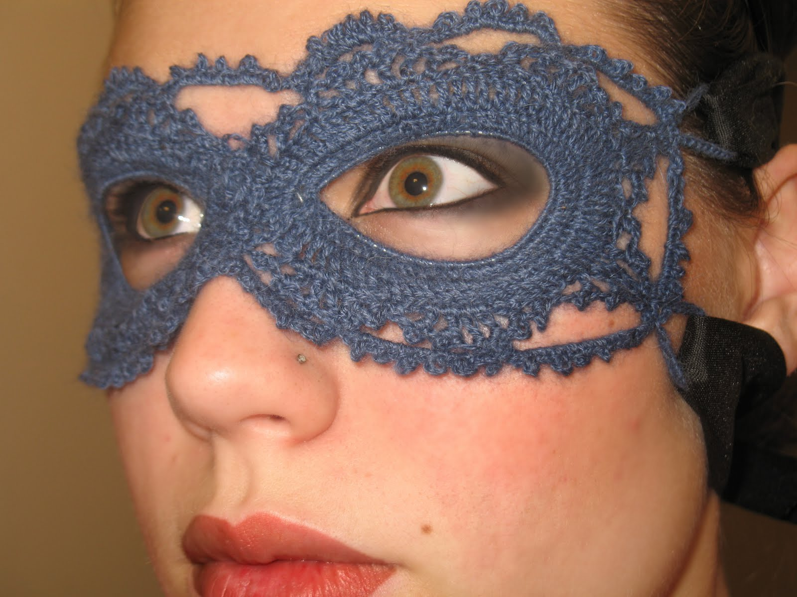 Lace Mask Free Crochet Pattern
