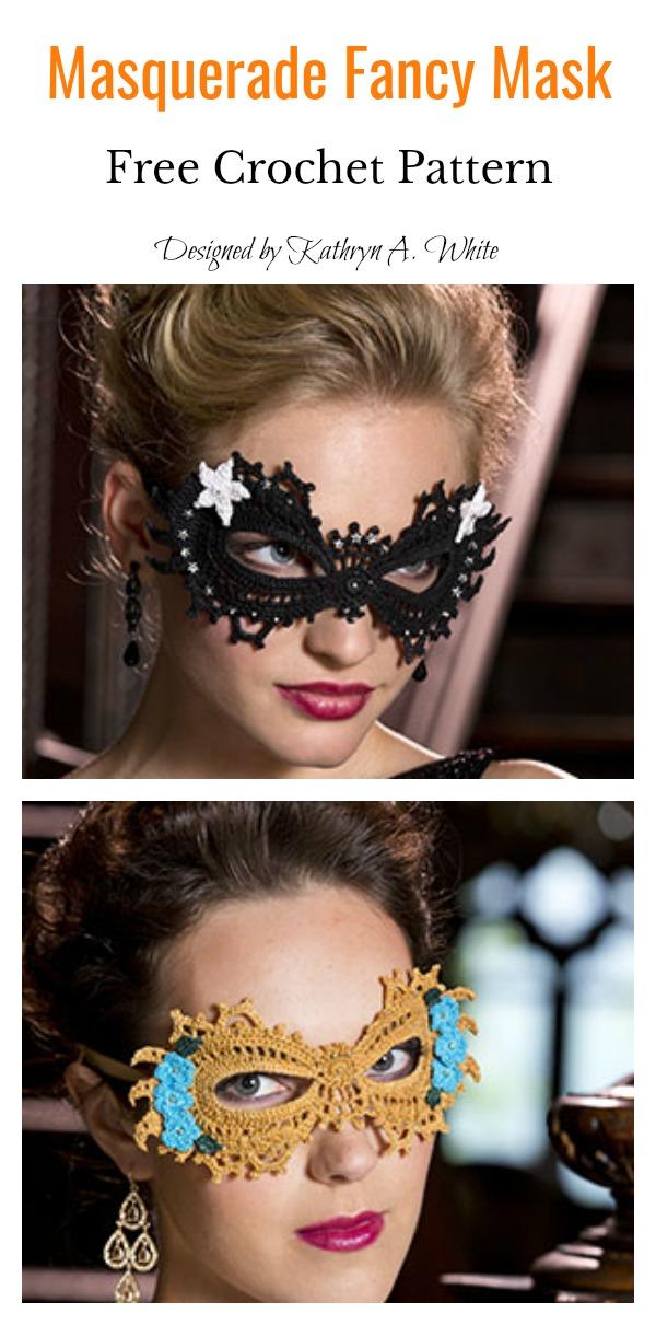 Lace Mask Free Crochet Pattern