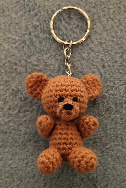 How To Make A Cute Small Crocheted Teddy Bear - DIY Crafts ... | 640x429