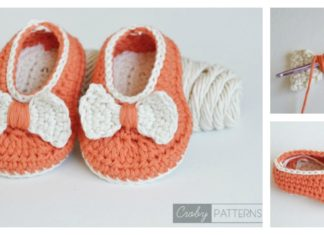 Orange Pumpkin Baby Booties Free Crochet Pattern
