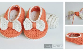 Orange Pumpkin Baby Booties Free Crochet Pattern