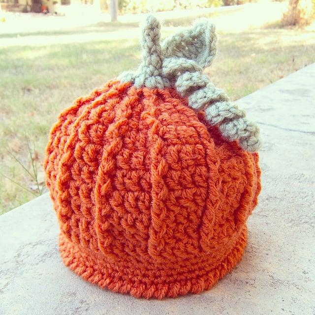 Pumpkin Harvest Hat Free Crochet Pattern a5efa009769
