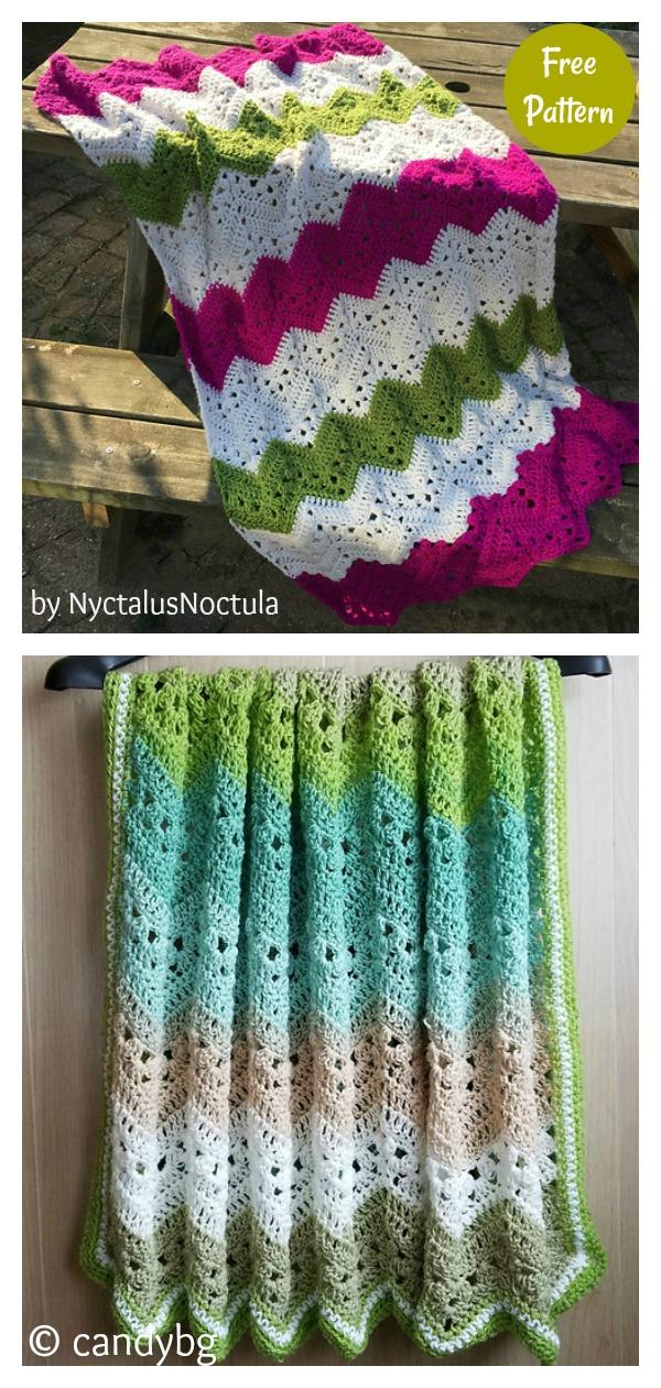 6-Day Kid Blanket Free Crochet Pattern