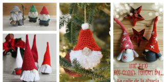 8 Amigurumi Christmas Gnome Crochet Pattern Free and Paid