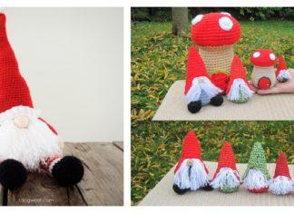 Amigurumi Christmas Gnome Crochet Pattern