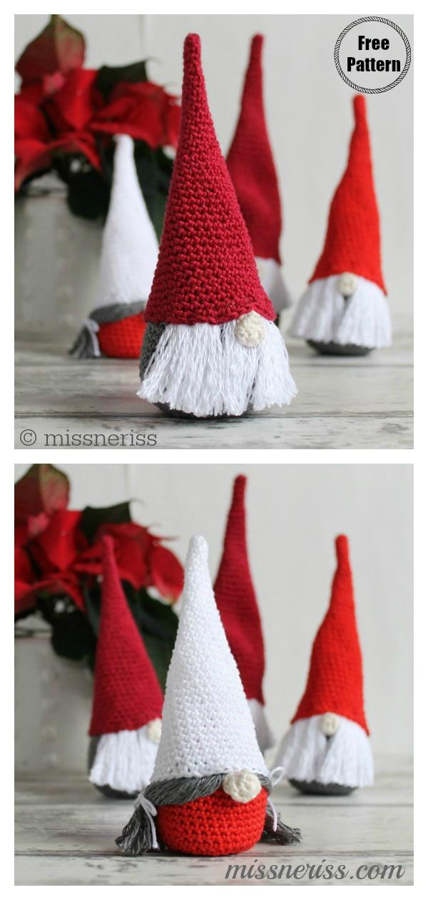 Amigurumi Christmas Gnome Free Crochet Pattern Amigurumi Christmas Gnome Free Crochet Pattern