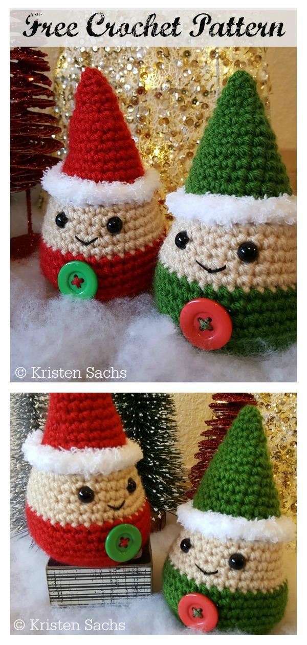 Amigurumi Holiday Gnome Free Crochet Pattern