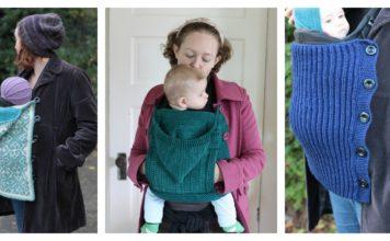 Baby Wearing Free Knitting Pattern