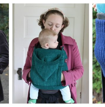 Baby Wearing Free Knitting Pattern