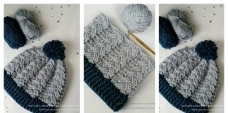 Cable Beanie Hat Free Crochet Pattern