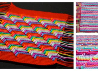 Classic Apache Tears Stitch Blanket Free Crochet Pattern and Video Tutorial