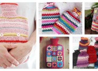 Hot Water Bottle Cover Free Crochet Patterns