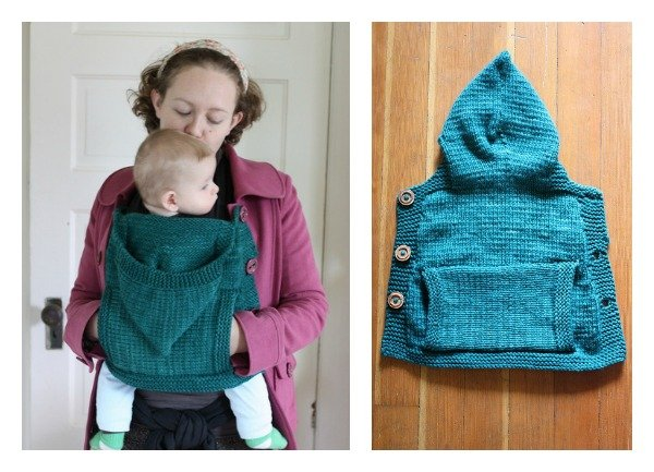 Knitted Baby Wearing