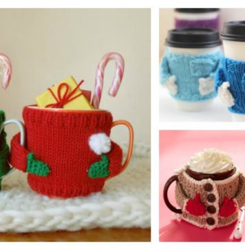 Mug Cozy Sweater Knitting Pattern