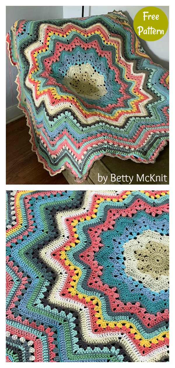 Spring Mixers A 6-Day Superstar Variation Free Crochet Pattern