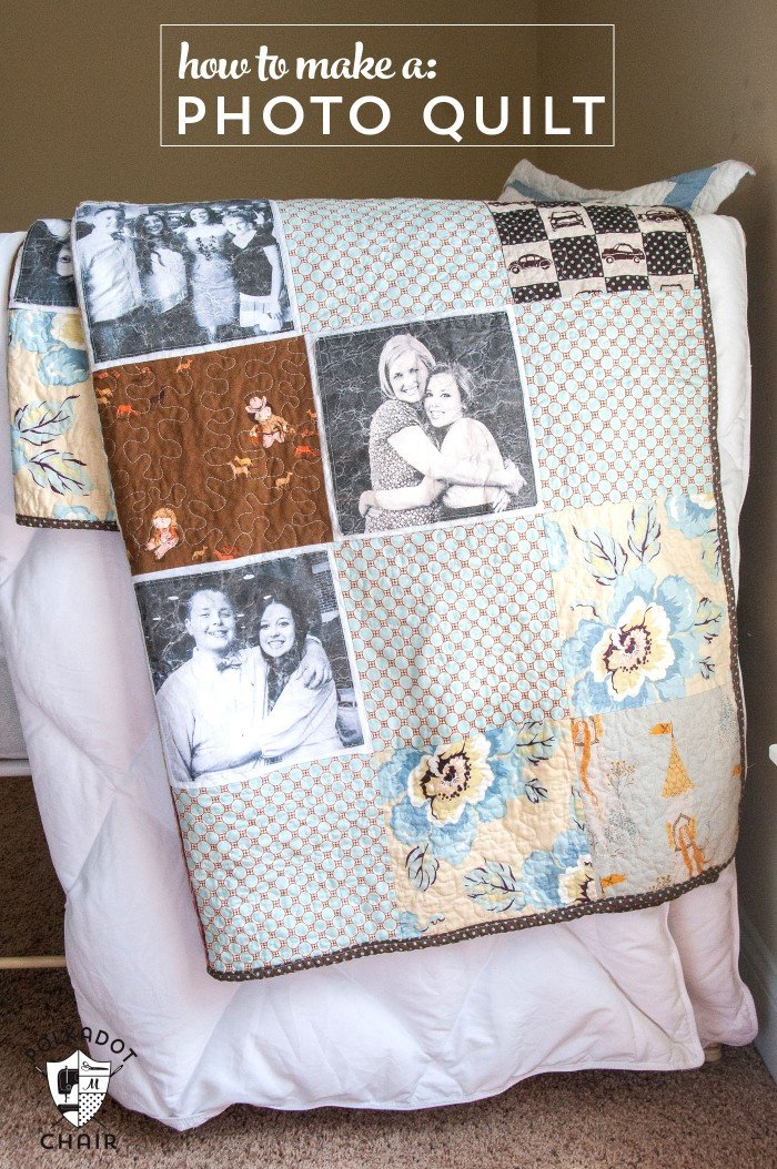 Photo Memory Quilt Tutorial