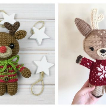 Adorable Holiday Deer Free Crochet Pattern Adorable Holiday Deer Free Crochet Pattern Adorable Holiday Deer Free Crochet Pattern