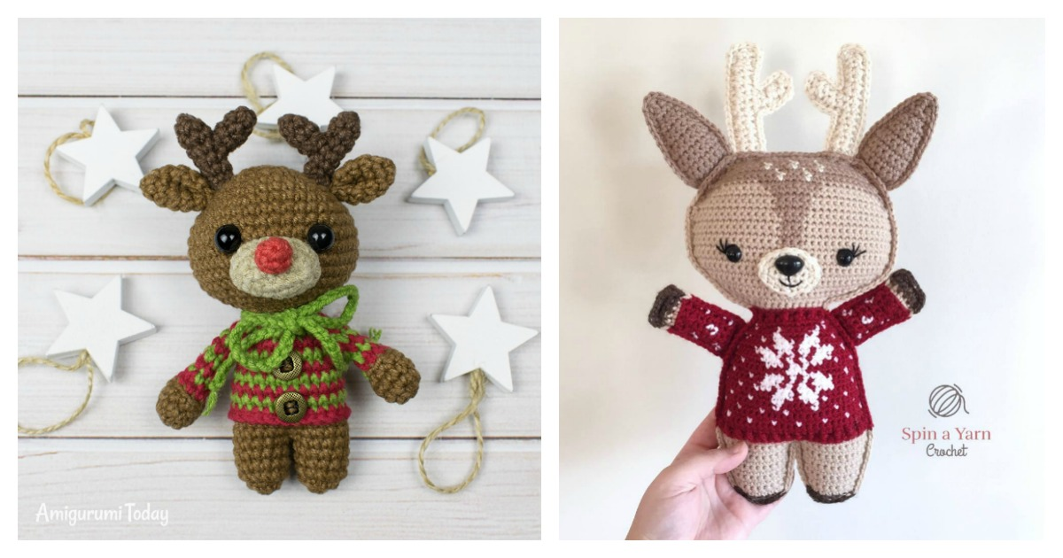 Frankie the Crochet Deer amigurumi pattern: + CROCHET PATTERN FOR ...   630x1200
