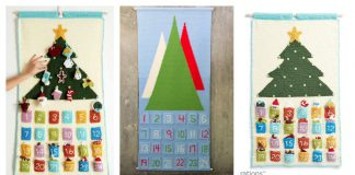 Advent Countdown Calendar Free Crochet Pattern