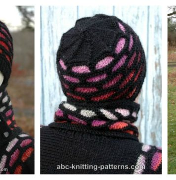 Brick Road Hat Free Knitting Pattern