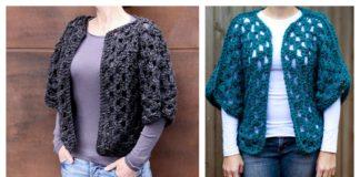 Granny Shrug Free Crochet Pattern