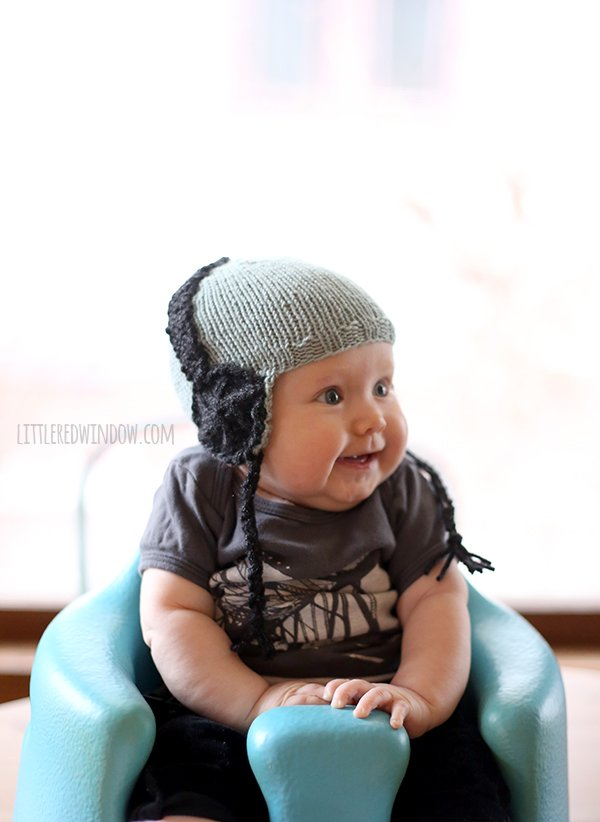 Kids Headphone Hat Free Knitting Pattern
