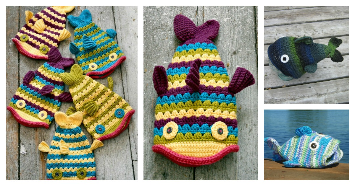 Fun Fish Hat Crochet Patterns