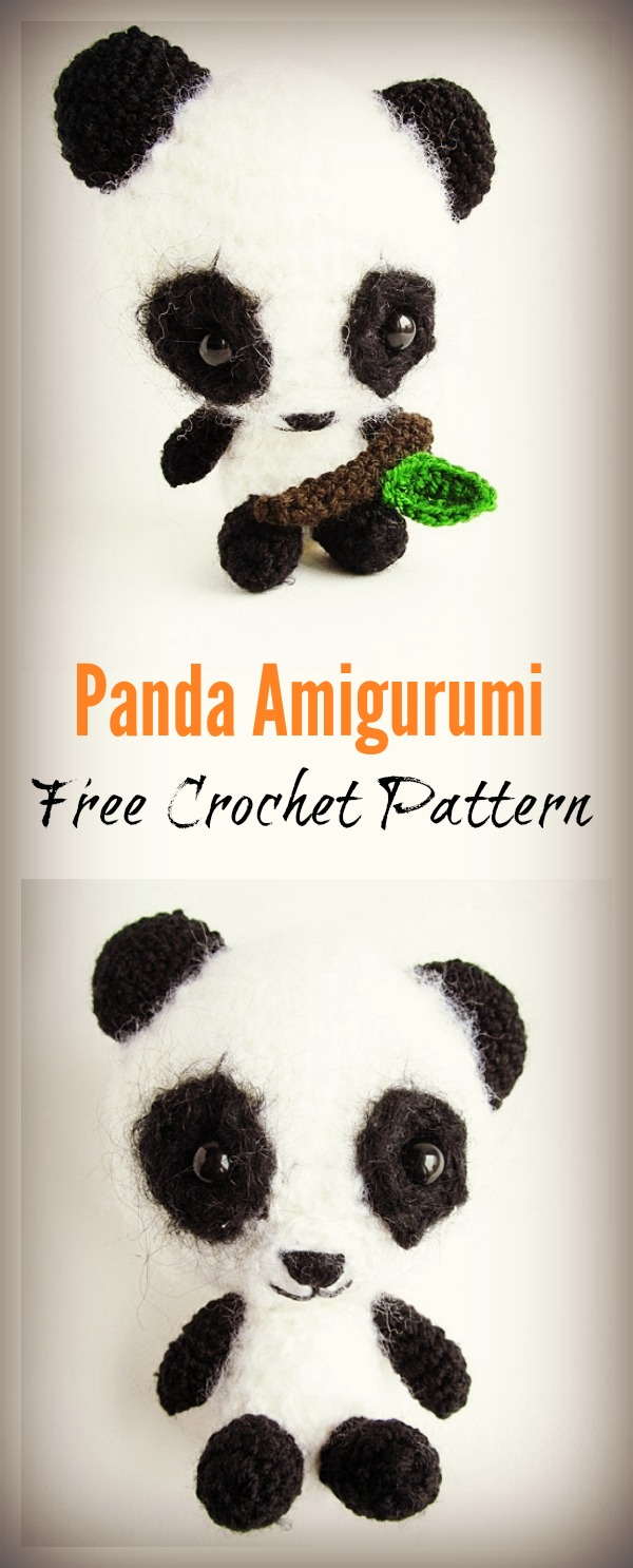 Miku The Panda Amigurumi Free Crochet Pattern